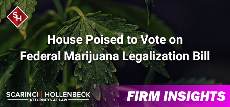 House Poised to Vote on Federal Marijuana Legalization Bill