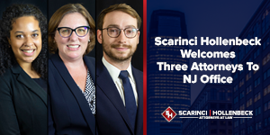 Scarinci Hollenbeck Welcomes Three Attorneys To NJ Office