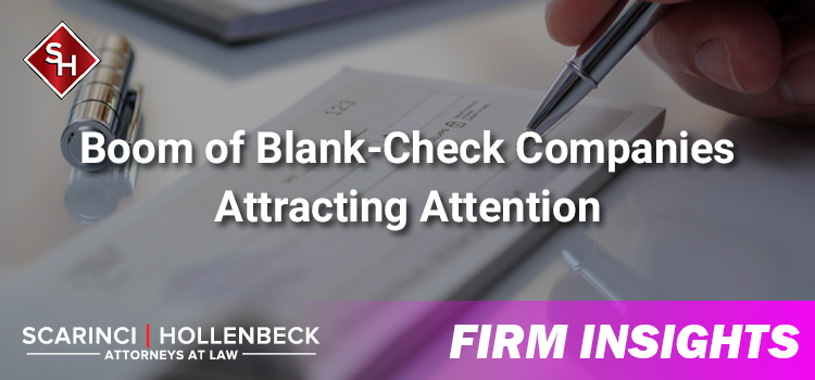 Boom of Blank-Check Companies Attracting Attention