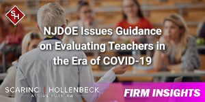 NJDOE Issues Guidance on Evaluating Teachers in the Era of COVID-19