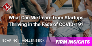 What Can We Learn from Startups Thriving in the Face of COVID-19?