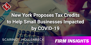 New York Proposes Tax Credits to Help Small Businesses Impacted by COVID-19