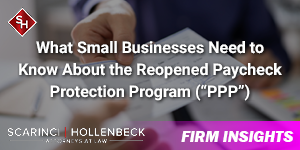 What Small Businesses Need to Know About the Reopened PPP Loan Program