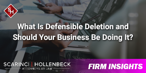 What Is Defensible Deletion and Should Your Business Be Doing It?