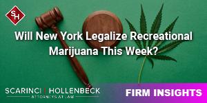 Will New York Legalize Recreational Marijuana This Week?