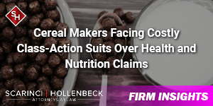 Sugary Cereal Makers Facing Costly Class-Action Suits Over Health and Nutrition Claims