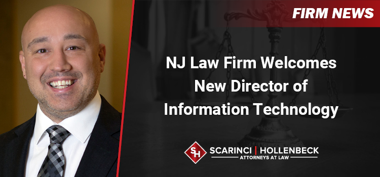 NJ Law Firm Welcomes New Director of Information Technology