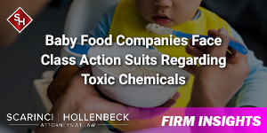 Baby Food Companies Face Class Action Suits Regarding Toxic Chemicals