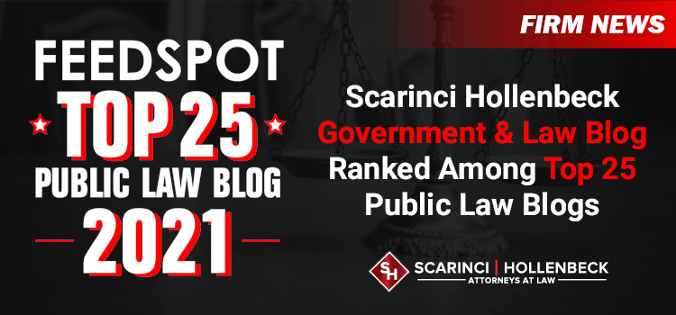 Scarinci Hollenbeck Government & Law Blog Ranked Among Top 25 Public Law Blogs
