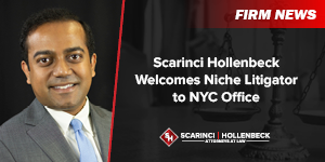 Scarinci Hollenbeck Welcomes Niche Litigator to NYC Office