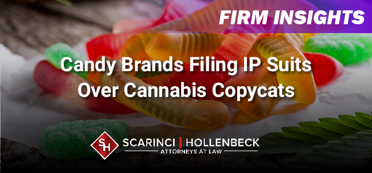 Candy Brands Filing Trademark Suits Over Cannabis Copycats