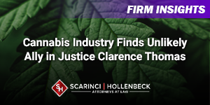 Cannabis Industry Finds Unlikely Ally in Justice Clarence Thomas