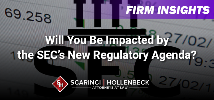 Will You Be Impacted by the SEC's New Regulatory Agenda?