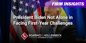 President Biden Not Alone in Facing First-Year Challenges