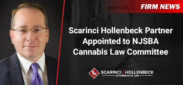 Scarinci Hollenbeck Partner Appointed to NJSBA Cannabis Law Committee