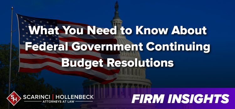What You Need to Know About Federal Government Continuing Budget Resolutions